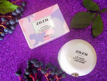 Питательная ночная маска для губ с коллагеном Crystal Collagen Sleeping Lip Mask ZOZU