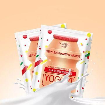 Питательная восстанавливающая маска для лица на основе йогурта Rorec