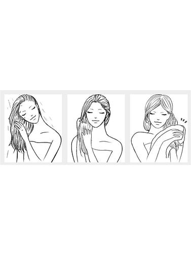 Восстанавливающая маска для волос, с корнем имбиря и женьшенем, укрепляющая, 250 мл HOUMAI