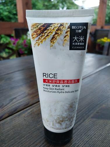 Пенка для умывания RICE Moisturizes Hydra Delicate Skin Cleanser с экстрактом риса 100 мл Beotua