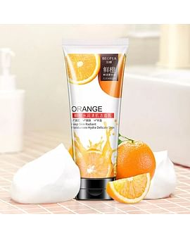 Пенка для умывания ORANGE CLEANSER Keep Skin Radiant Moisturizes Hydra Delicate Skin с экстрактом апельсина 100 гр Beotua