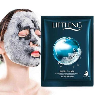 Пузырьковая тканевая маска Bubble Mask,25 г LIFTHENG