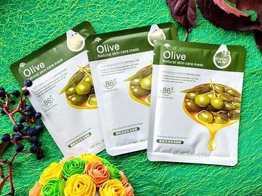 Маска для лица с экстрактом оливок высшего сорта для чувствительной кожи Rorec
