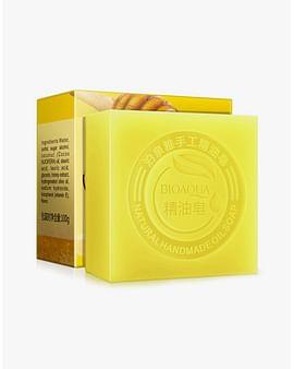 Натуральное мыло ручной работы с мёдом Honey Natural Oil Soap,100 гр. Bioaqua