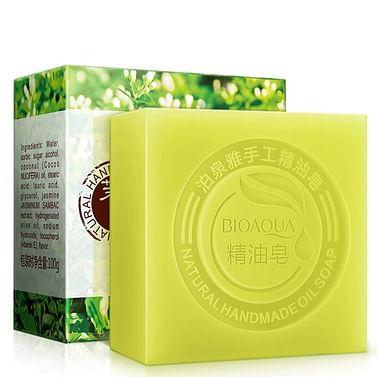 Натуральное мыло ручной работы с жасмином BIOAQUA Jasmine Natural Oil Soap, 100 гр. Bioaqua