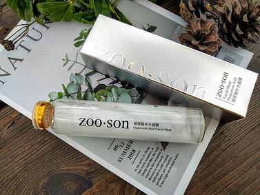 Многоразовая маска-салфетка для лица с Гиалуроновой кислотой в колбе Zoo-Son Hyaluronic Essence (50мл) ZooSon
