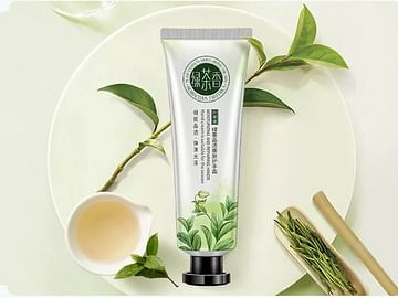 Увлажняющий омолаживающий крем для рук с экстрактом зеленого чая, 30гр Senana