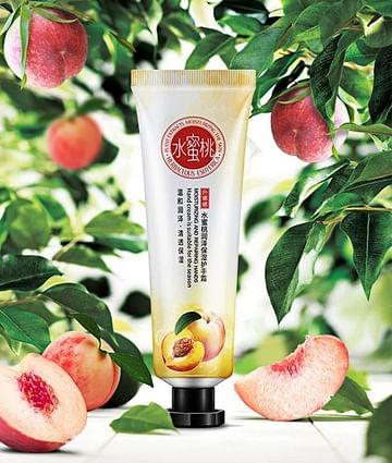 Prunus Persica Hydro Cream - крем для рук с персиком Senana