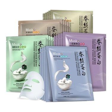 Увлажняющая маска для лица с экстрактом жасмина и протеином шелка One Sprinq
