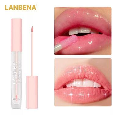 Сыворотка-тинт для губ с легким розовым оттенком LANBENA