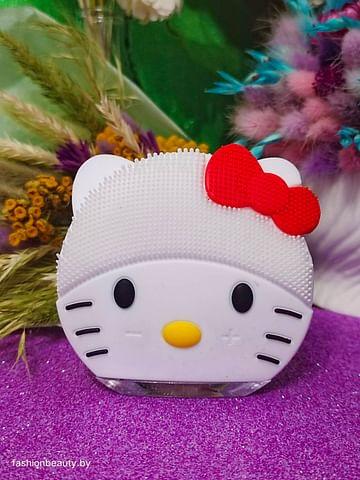 Щетка-массажёр для лица Hello Kitty (белый) FOREVER