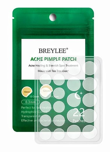 Лечебные патчи от акне, ночные 22 шт. / Acne treatment patches for nignt BREYLEE