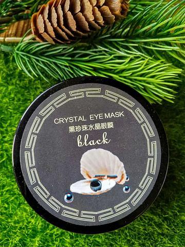 Гидрогелевые патчи для кожи вокруг глаз с черным жемчугом 60 шт CZIRAN