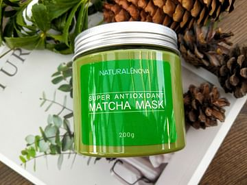 Супер антиоксидантная маска для лица c Матча,200 гр. NaturaleNova