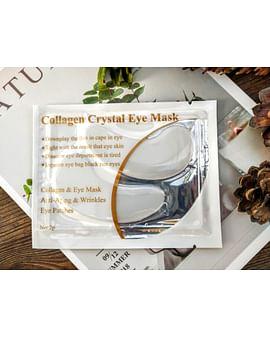 Гидрогелевые патчи для век с концентрированным коллагеном Collagen Crystal Eye Mask, 1 пара LANBENA