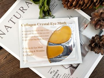 Гидрогелевые патчи для век с коллагеном и био-золотом Collagen Crystal Eye Mask, 1 пара LANBENA