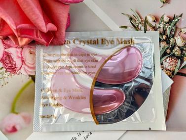 Гидрогелевые патчи для век с коллагеном и экстрактом виноградных косточек Collagen Crystal Eye Mask, 1 пара LANBENA
