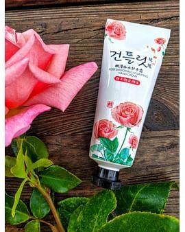 Парфюмированный увлажняющий крем для рук с экстрактом розы,30 гр. HANKEY