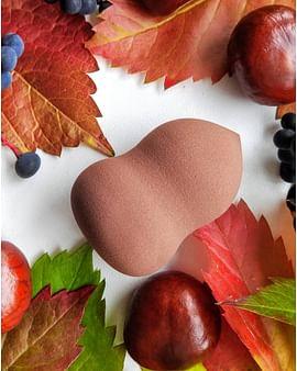 Beauty Powder Puff спонжик для нанесения тональных средств ( шоколад ) IMAGES