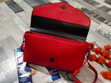 Сумка женская модель 260 (красный)