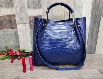 Набор сумок 4-в-1 модель 322 (глубокий синий)