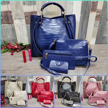 Набор сумок 4-в-1 модель 322 (пыльная роза)