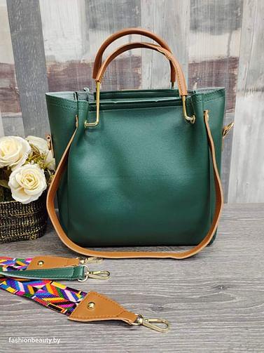 Набор сумок 4 в 1 модель 332 (изумруд)