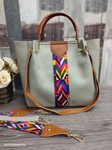 Набор сумок 4 в 1 модель 332 (серый)