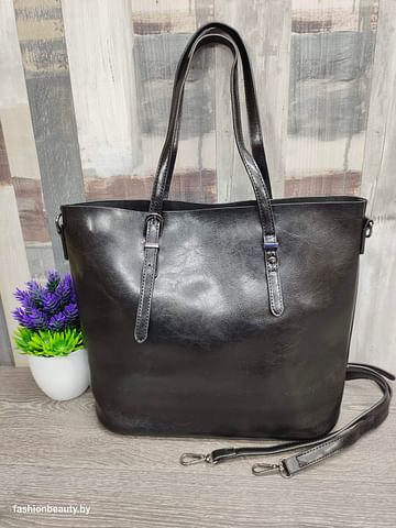 Сумка-шоппер модель 333 (черный)