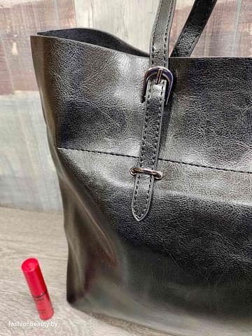 Сумка-шоппер модель 335 (черный)