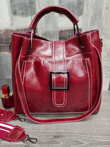 Набор сумок 3 в 1 модель 338 (бордовый)