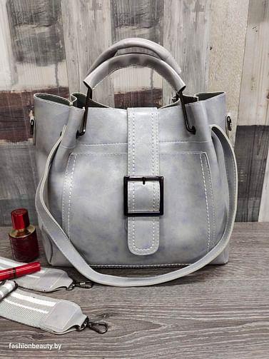 Набор сумок 3 в 1 модель 338 (серый)