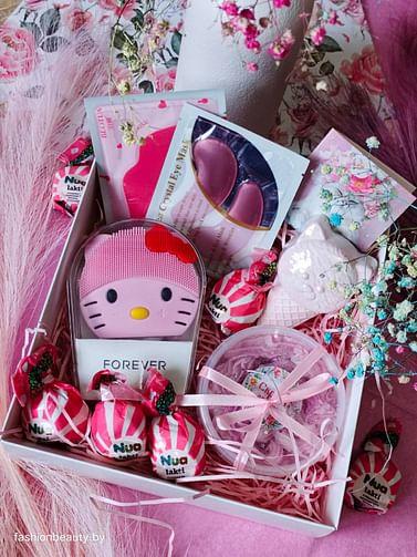 "Бьюти-бокс розовый 🎁 ""BEAUTY BOX BEAUTYMANIA"""