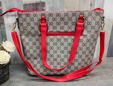 Многофункциональный набор сумок 6-в-1 модель 349 (красный)