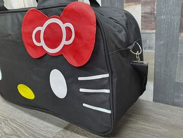 Сумка большая многофункциональная женская Hello Kitty (черный) модель 351