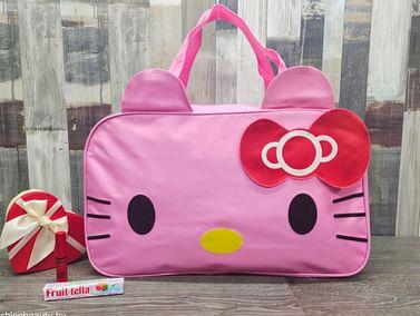 Сумка большая многофункциональная женская Hello Kitty (розовый) модель 351