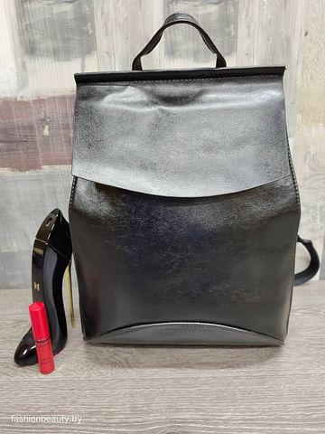 Рюкзак-трансформер женский модель 355 (черный)