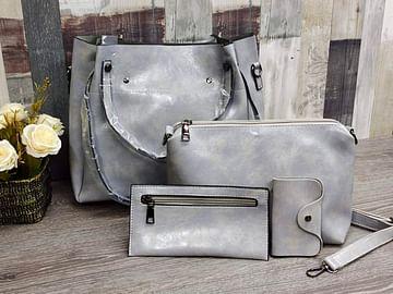 Набор сумок 4 в 1 модель 357 (серый)