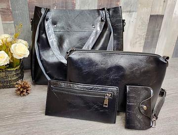 Набор сумок 4 в 1 модель 357 (черный)
