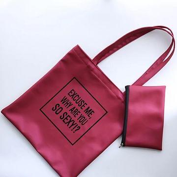 Сумка-шоппер модель 359 (ягодный металлик)