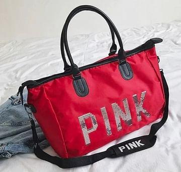 Сумка большая многофункциональная женская PINK (красный) модель 360