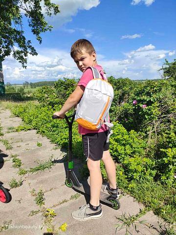 Рюкзак модель 361 Air (серый/оранжевый)