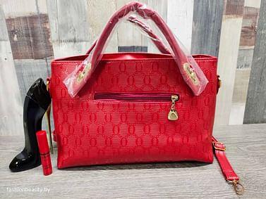 Многофункциональная вместительная сумка 4-в-1 модель366 (красный)