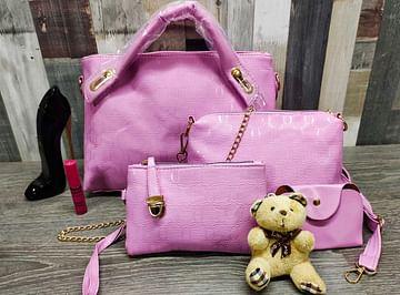 Многофункциональная вместительная сумка 4-в-1 модель366 (розовый)