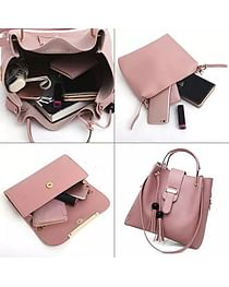 Набор сумок 3-в-1 модель 368 (серый)