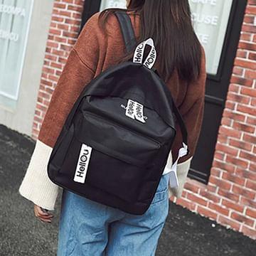 Рюкзак городской модель 371(черный)