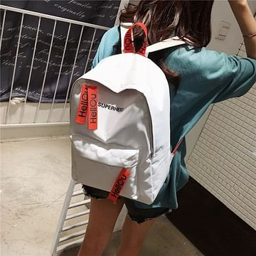 Рюкзак городской модель 371(белый)