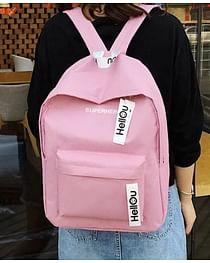 Рюкзак городской модель 371(розовый)