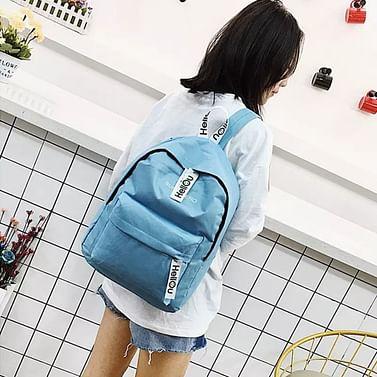 Рюкзак городской модель 371(голубой)