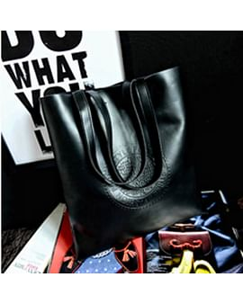 Сумка-шоппер модель 376 (черный)